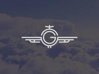 G + ✈️ logo