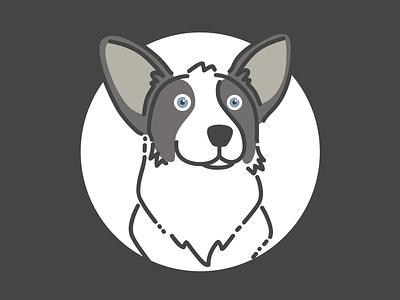 Indiana Rebound cardigan corgi character pet dog corgi