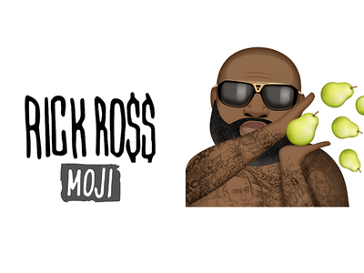 Rick ross moji sticker pack for ios