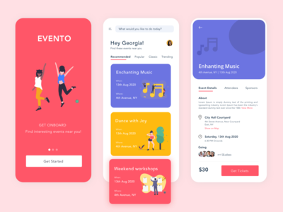 Evento - An Event Booking Application