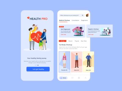 Health Pro - Medical Checkup Application