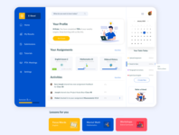 Assignment Dashboard Design for Students