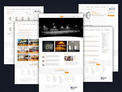 Lighting web page theme website light dock blub electricity power pool