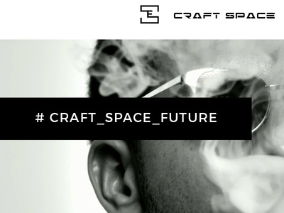 Craft Space - hookah bar lounge menu restaurant smoking site uxui bar hookah ux ui design web