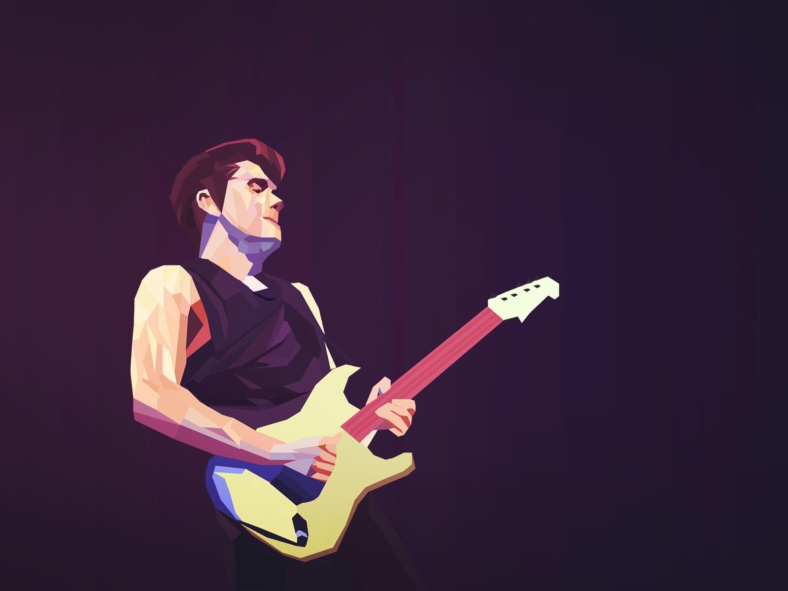 John Mayer illustration