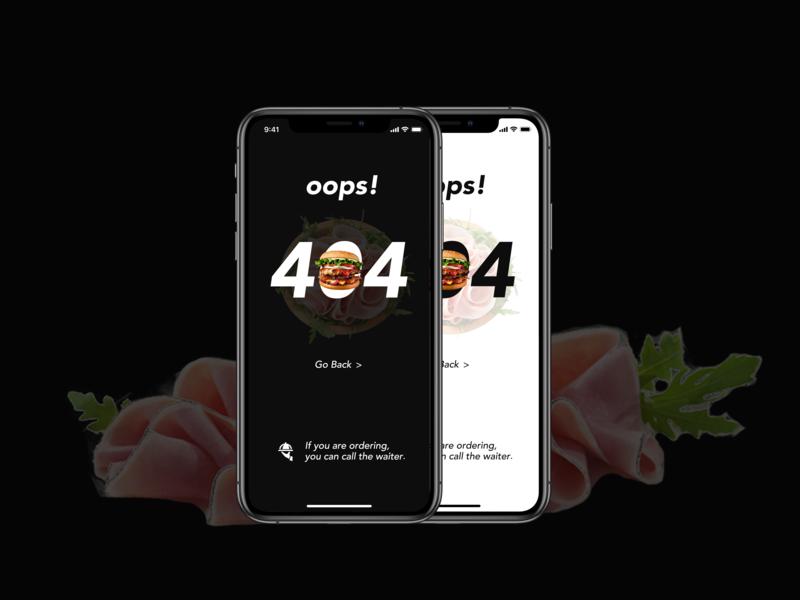 404 page design app ui design