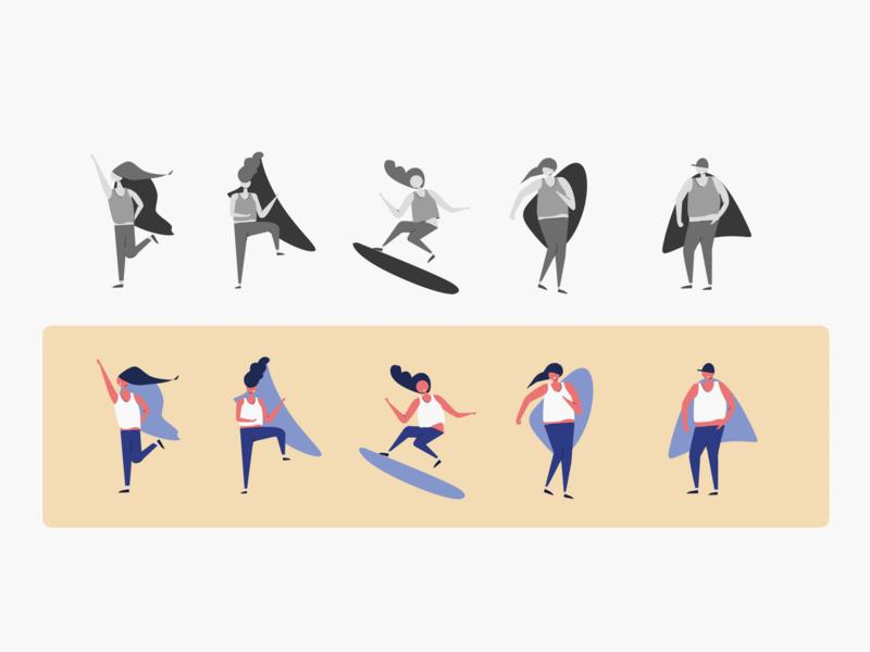 people practice 2018/09 illustration