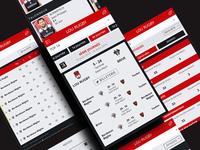 Sport website mobile