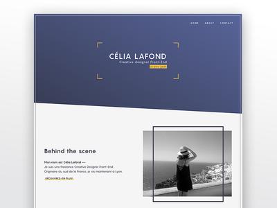 Portfolio // new version homepage ui redesign minimal webdesign portfolio