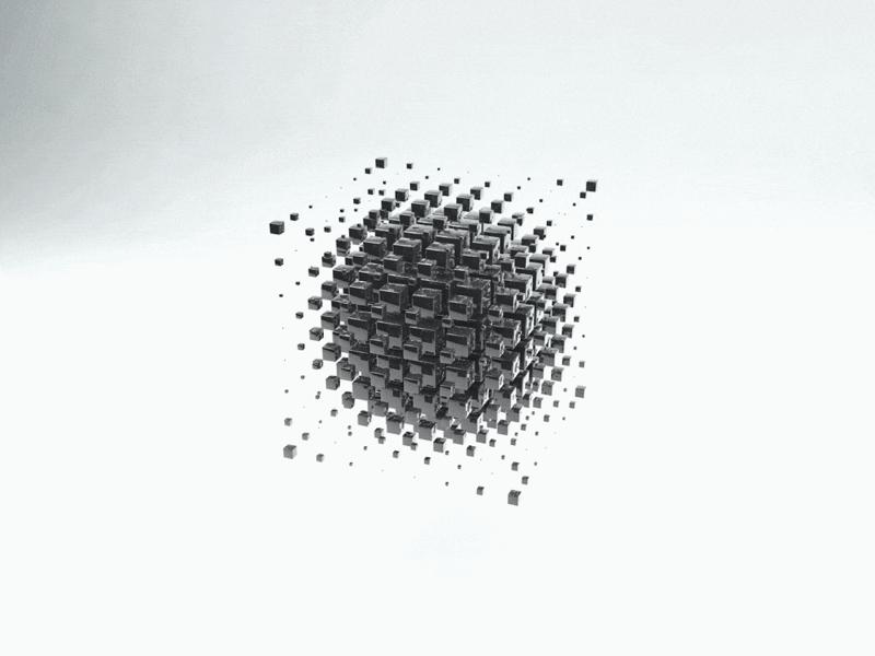 Metal Loop c4d motion 3d
