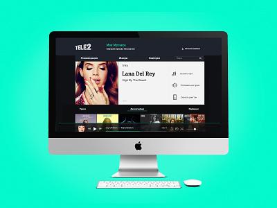 Tele2 Music Web