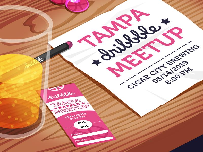 May Meetup! tampa bay tampa meetup illustrator vector illustration