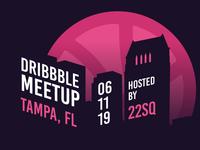 Dribbble Tampa Meetup June, 2019