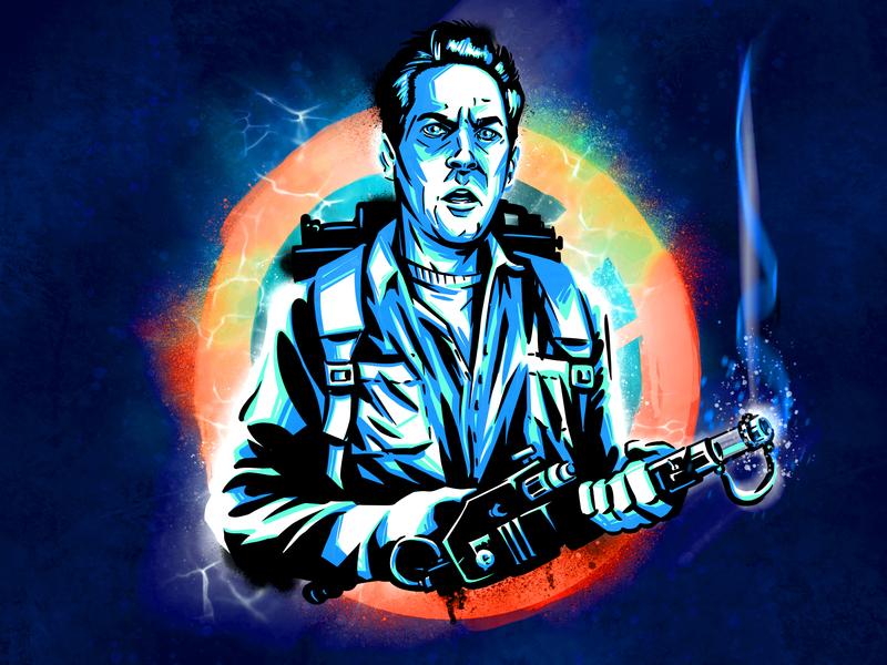GB20 digitalartist digitalart procreateapp procreate illustrator illustration ghostbuster