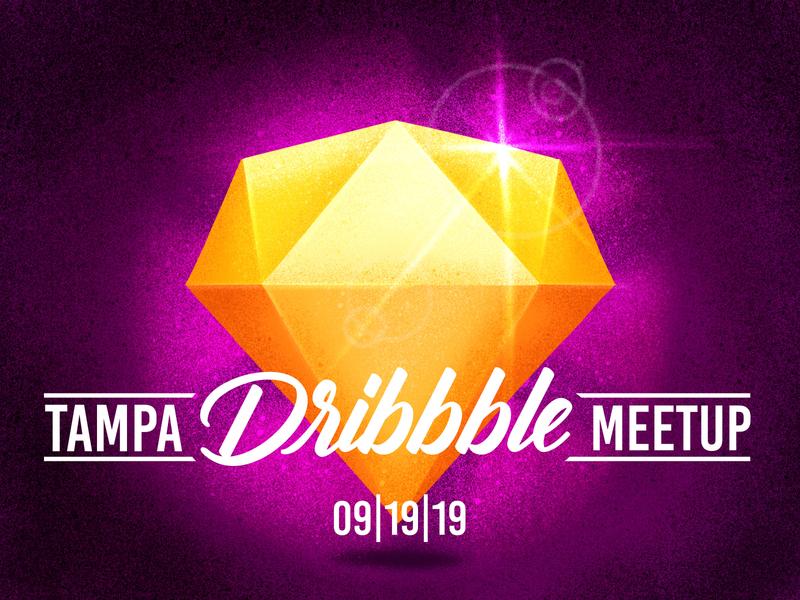 Tampa September Meetup! illustration sketchapp sketch florida tampa bay tampa meetups meetup