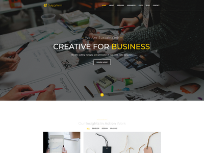Landing Page Website website webdesign ux ui typography landing homepage desktop design clean