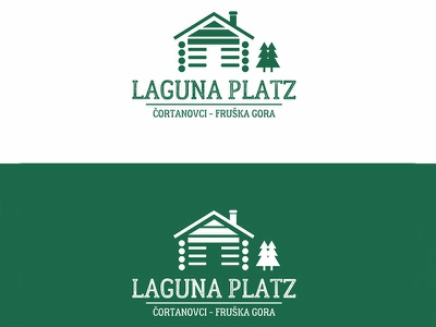 Laguna art vector typography type logotype logo icon flat design branding brand
