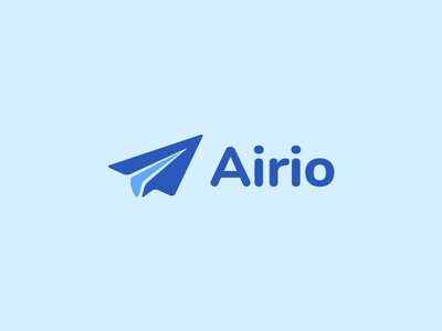 Daily Logo Challenge | Day 026 (Paper Airplane) airplanes paper plane airplane paper airplane airio vector logo concept logo challenge design challenge dailylogochallenge concept identity design branding logo