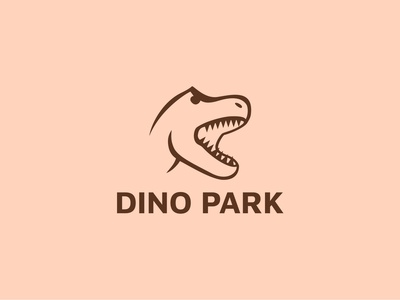 Daily Logo Challenge | Day 035 (Dinosaur Amusement Park)