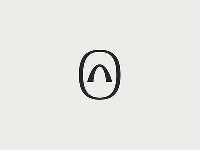 Arc. symbol graphic design brand identity brand design logo mark logo icon squircle circle logo design logo symbol architecture arc vector design monogram icon branding logo