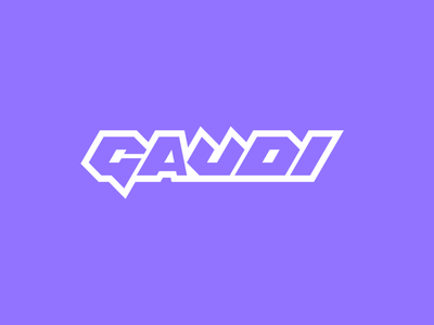 Gaudi Cosplay, logo design gaudi cosplay design lettering graffiti icon branding logo