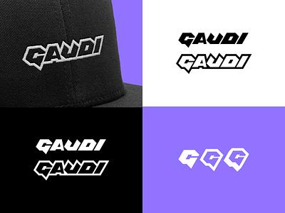 Gaudi Cosplay, brand elements gaudi design cosplay calligraphy lettering graffiti monogram icon branding logo