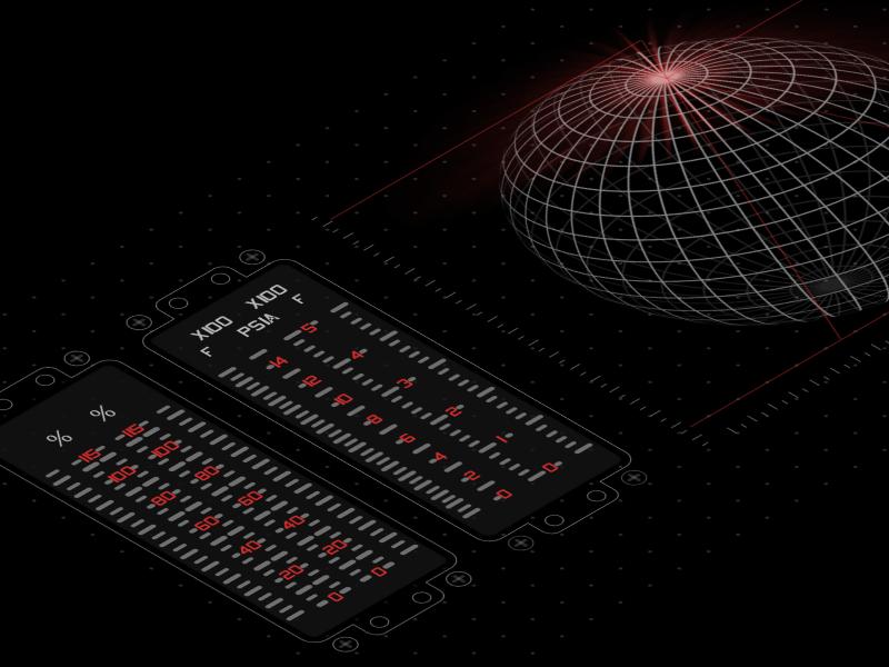 Daily FUI - More Control Exploration dailyfui experimental darkmode fui fuidesign