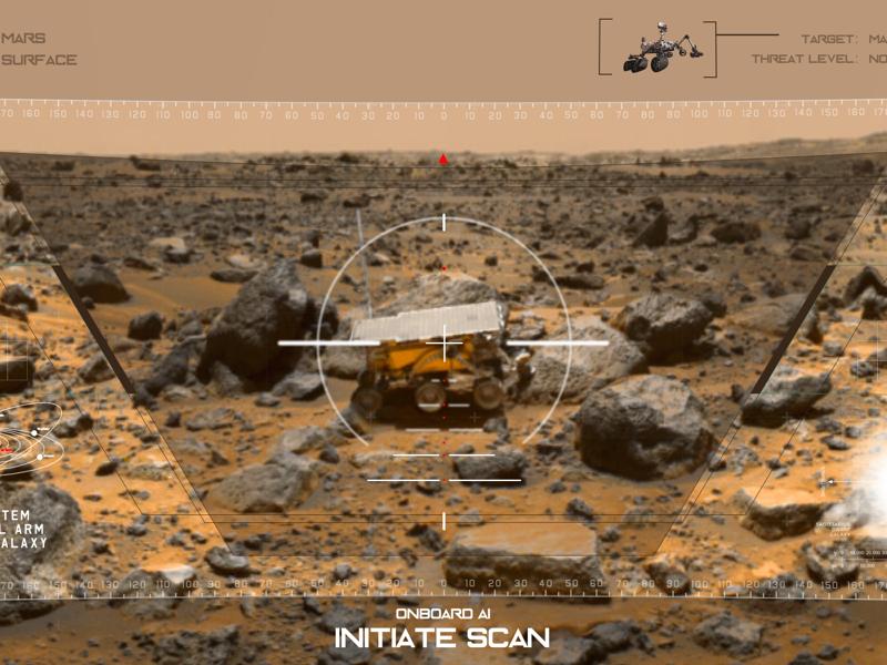 Mars HUD hud scifi space mars fuidesign ui fui