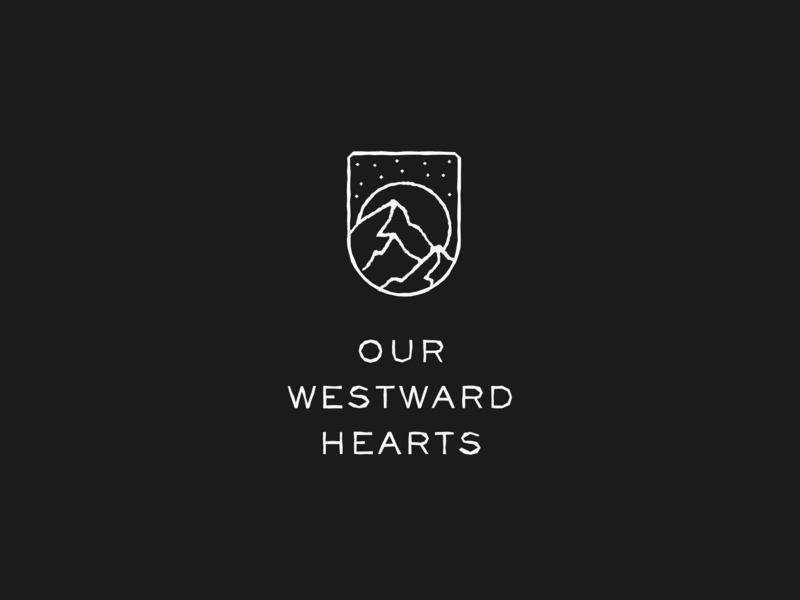 Videographer Branding patch branding logo outdoor outside wilderness california outdoors badge mountains