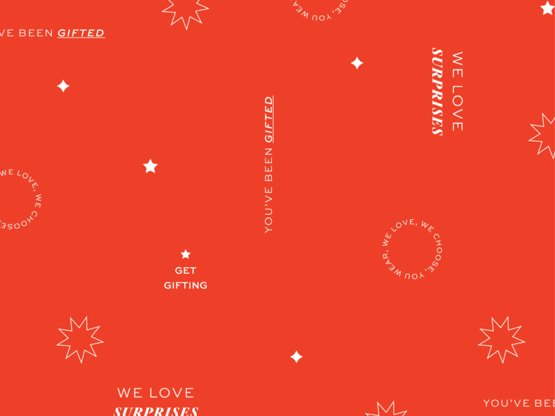 Christmas Pattern boutique logo text pattern christmas