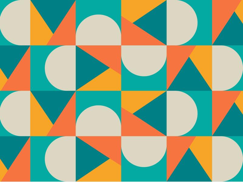 Market Pattern geometric ecommerce pattern