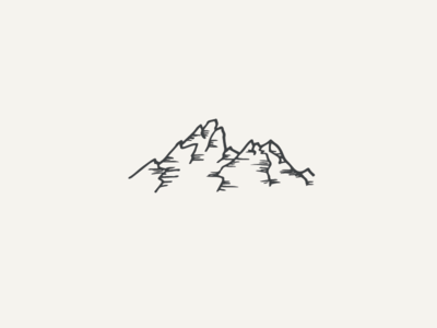 mountains pt. 2 national parks camping mountains outdoors illustration