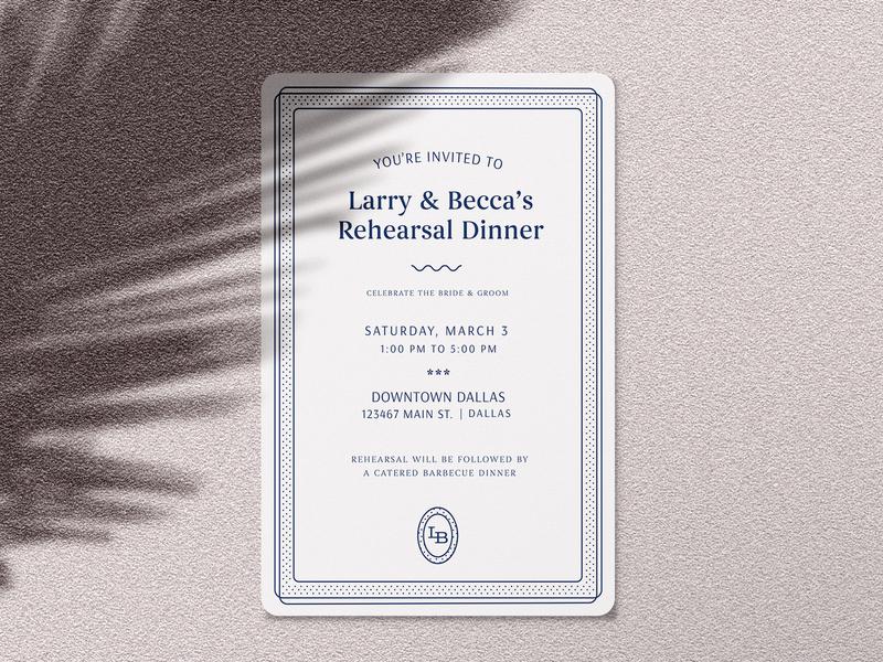 rehearsal invite mockup party event rehearsal dinner invitation wedding