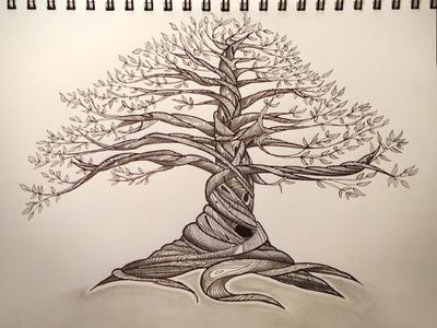 Inked Tree