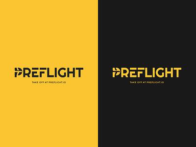 Preflight Checklist App Logo app logo flight plane logo