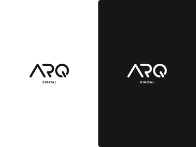 ARQ Digital design black logo