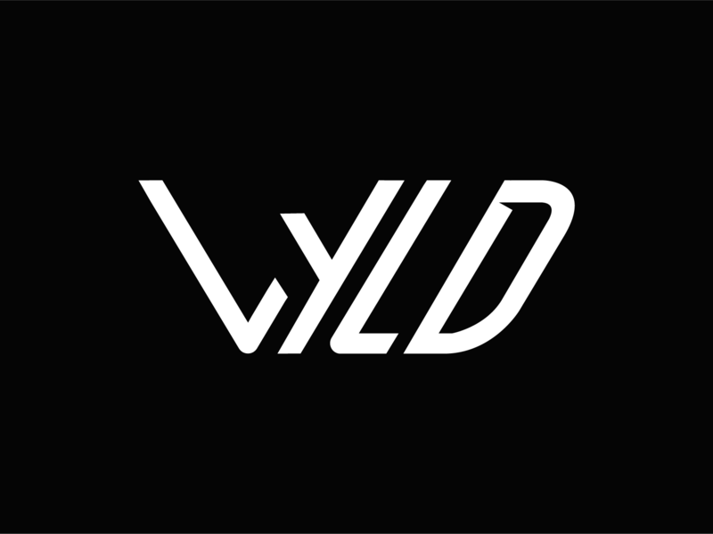 Wyld Logo Version 3 wilderness wild wyld icon vector typography branding white black design logo