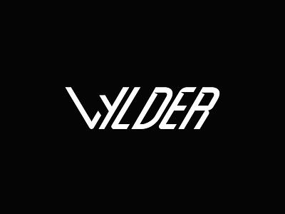 Wyld goes Wylder. vector wilder wylder wyld wild typography branding white black design logo