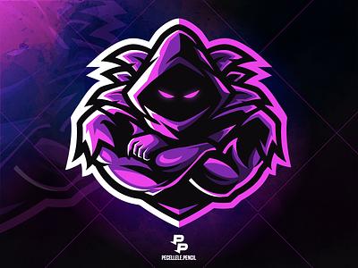 Raven professional exclusive premade for sale squad sport esports esport caster youtuber twitch gamer gaming skin fortnite vector design mascot logo raven