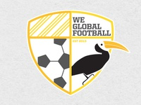 We Global Football Logo