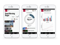 App design for HNW banking