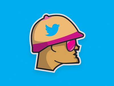 Tweeting In the Trenches design logo effl fantasy football team