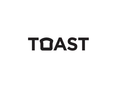 Toast logo pass the butter get toasty toast