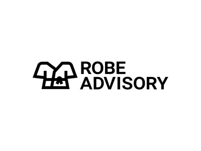 Robe Advisory tool finance jokes robes icon logo design