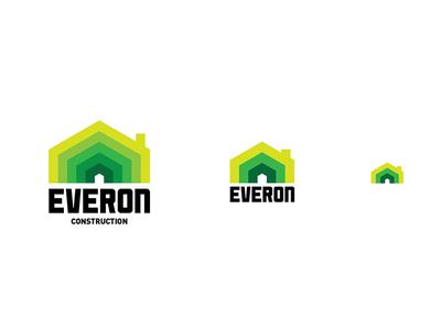 Everon Responsive logo small medium large responsive contractor green logo construction