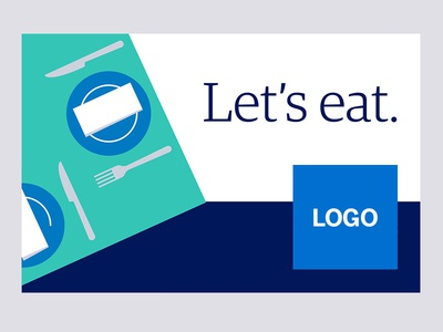 POP Decal - Dining1 pop illustration design