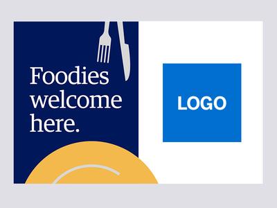 POP - Foodies welcome here. pop illustration design