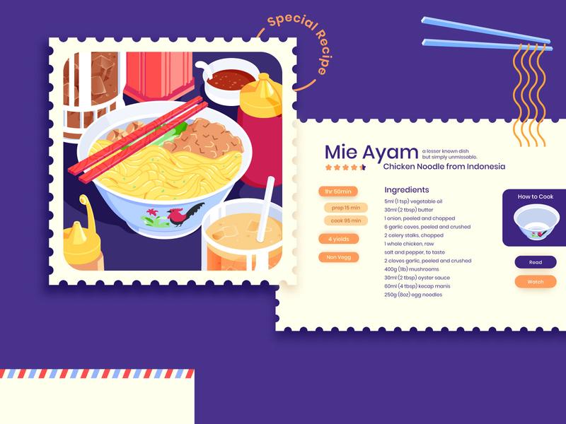 Mie Ayam Spesial Bakso Dua