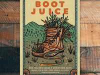 Boot Juice - Gig Poster