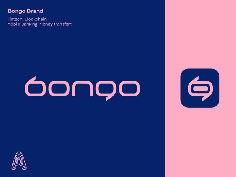 Bongo Logo design brand and identity logotype brand logo branding cameroon